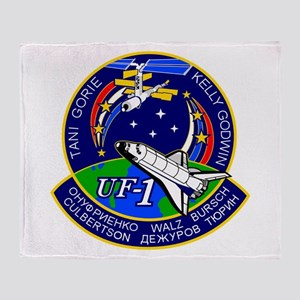 STS-108 Endeavour Throw Blanket