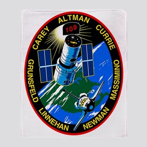 STS-109 Columbia Throw Blanket