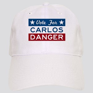 Vote For Carlos Danger Baseball Cap