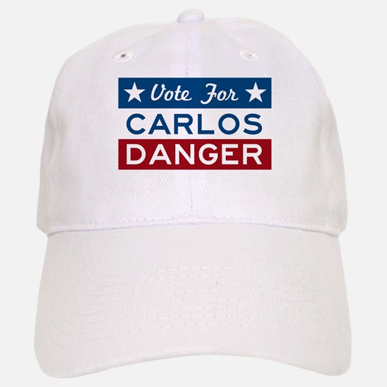 Vote For Carlos Danger Baseball Baseball Baseball Cap