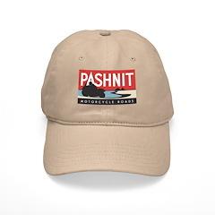 Pashnit Roads Baseball Cap- White or Kahki