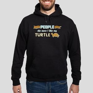 I Like My Turtle Hoodie
