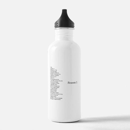 GCC Complete Season 1 Episode List Water Bottle