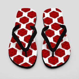 Geek Dice Flip Flops