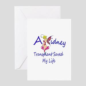 A kidney transplant saved my life fairy Greeting C