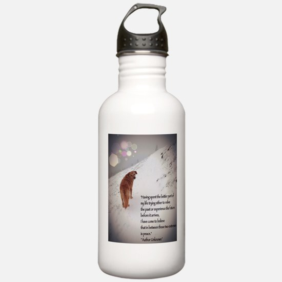 Peace Dog Water Bottle