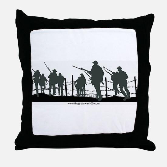 The Great War 100 Throw Pillow