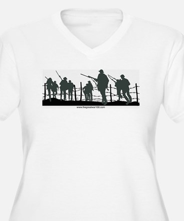 The Great War 100 Plus Size T-Shirt