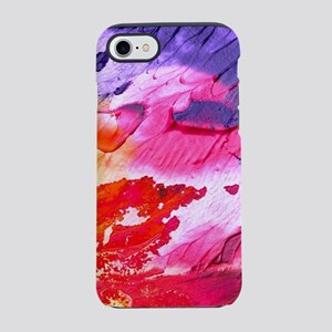 Bright Abstract Painting iPhone 7 Tough Case