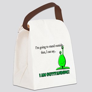I am OUTSTANDING Canvas Lunch Bag