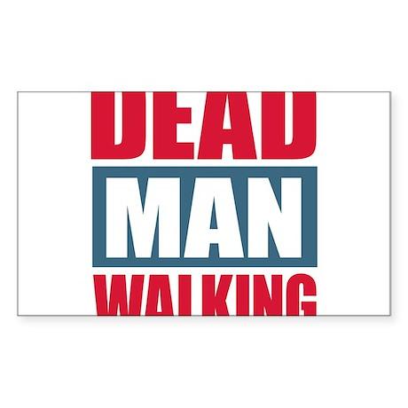 Dead Man Walking Sticker