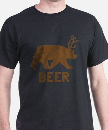 Bear + Deer = Beer T-Shirt