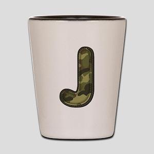 J Army Shot Glass