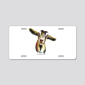 Goat Aluminum License Plate