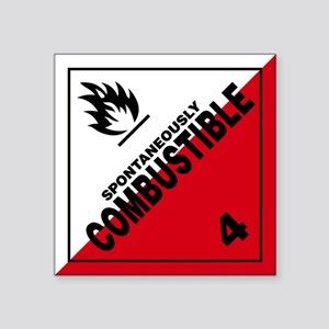 ADR Sticker - 4 Spontaneously Combustible
