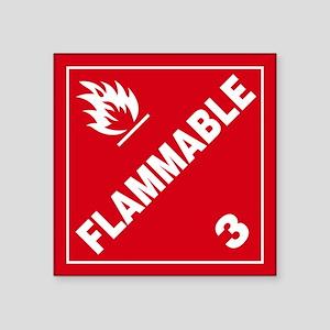 ADR Sticker - 3 Flammable