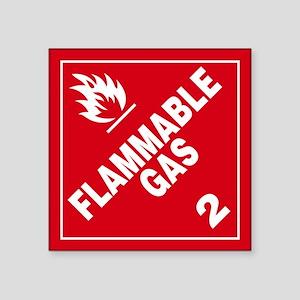 ADR Sticker - 2 Flammable Gas