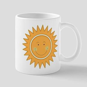 Smiley Sun Face Mug