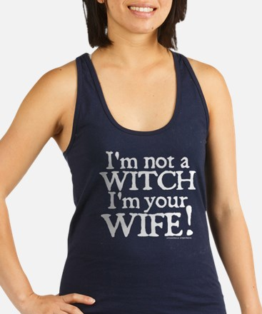 Witch Wife Princess Bride Racerback Tank Top