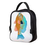 Longear Sunfish v Neoprene Lunch Bag