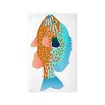 Longear Sunfish v 3'x5' Area Rug