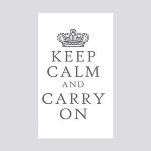 Keep Clam And Carry On Sticker