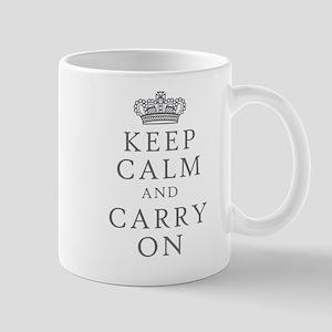 Keep Clam And Carry On Mug