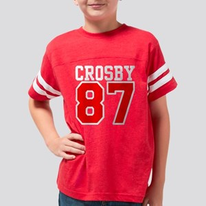 crosby_white Youth Football Shirt