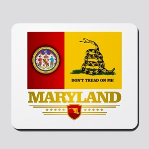 Maryland Gadsden Flag Mousepad