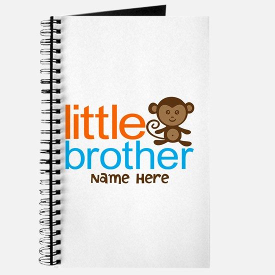 Personalized Monkey Little Brother Journal