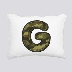 G Army Rectangular Canvas Pillow