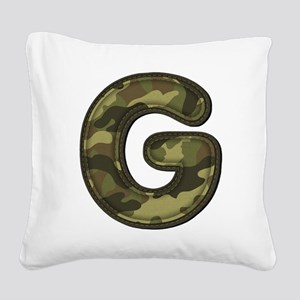 G Army Square Canvas Pillow