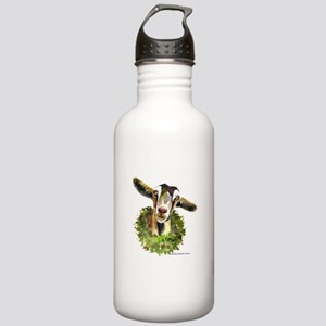 Christmas Goat Stainless Water Bottle 1.0L