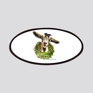 Christmas Goat Patches
