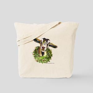 Christmas Goat Tote Bag