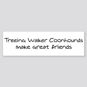 Treeing Walker Coonhounds mak Bumper Sticker