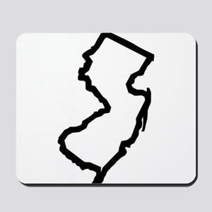 Jersey Outline Mousepad