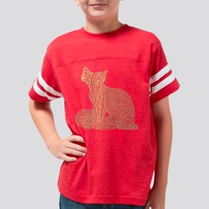 kittenyarngoldtrans Youth Football Shirt