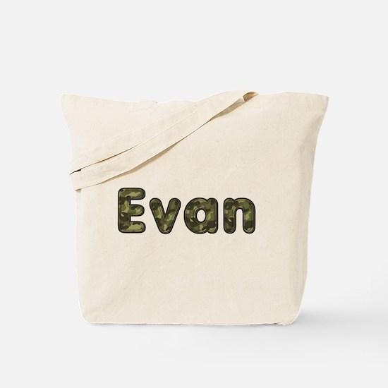 Evan Army Tote Bag