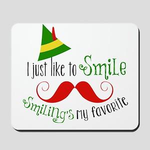 Smilings my favorite Mousepad