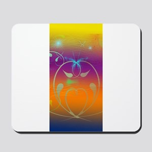 Cosmic Butterflies and Swirls for iPhone Mousepad