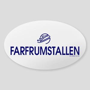 FARFRUMSTALLEN Sticker (Oval 10 pk)