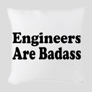 engineer3 Woven Throw Pillow