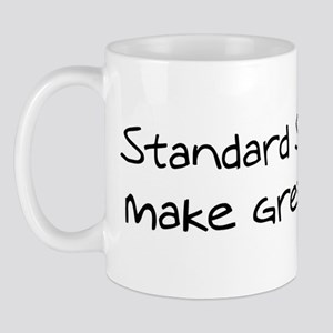 Standard Schnauzers make frie Mug