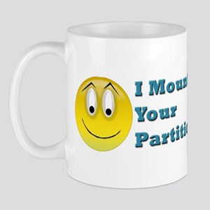 Partition Mounted Mug