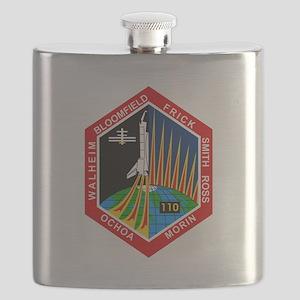 STS-110 Atlantis Flask