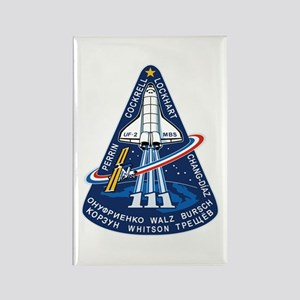 STS-111 Endeavour Rectangle Magnet
