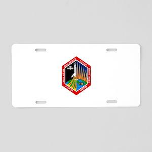 STS-110 Atlantis Aluminum License Plate