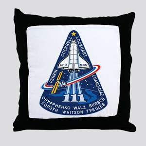 STS-111 Endeavour Throw Pillow
