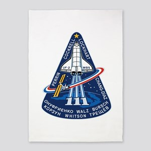 STS-111 Endeavour 5'x7'Area Rug